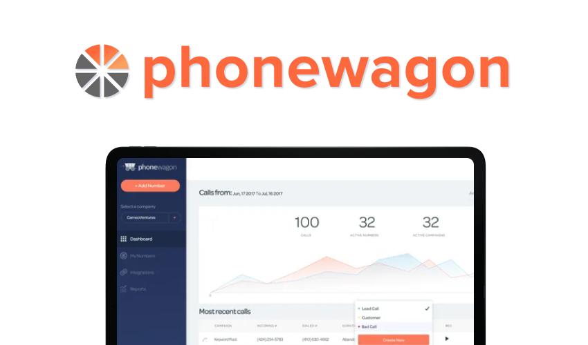 Phonewagon-call tracking software