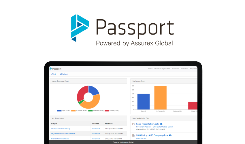 Passport Dashboard